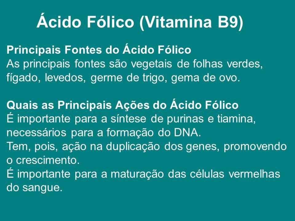 Ácido Fólico (Vitamina B9)