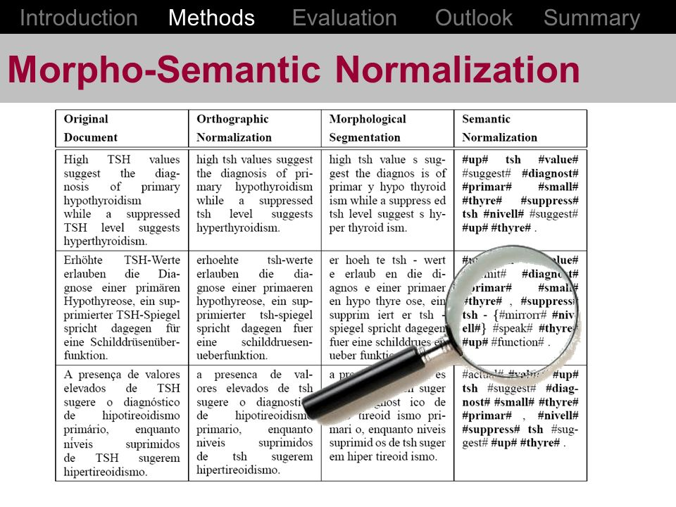 Morpho-Semantic Normalization