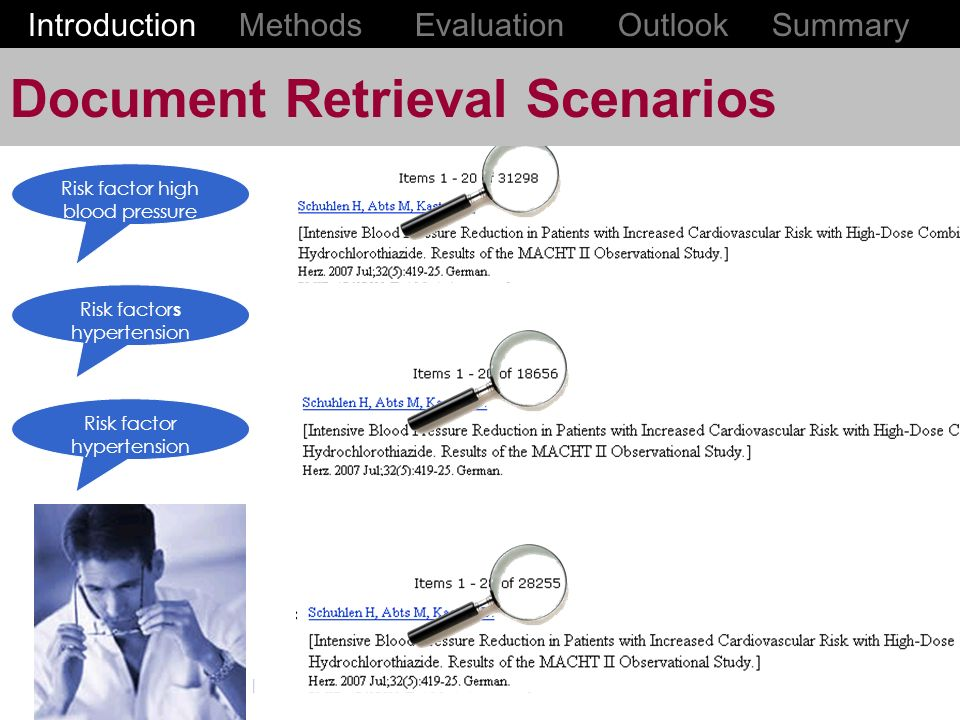 Document Retrieval Scenarios