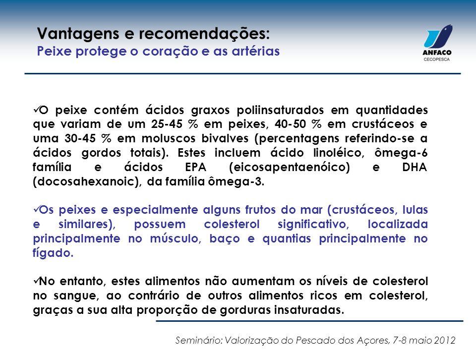 Vantagens e recomendações: