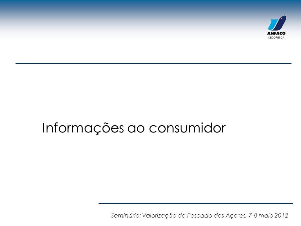 Informações ao consumidor