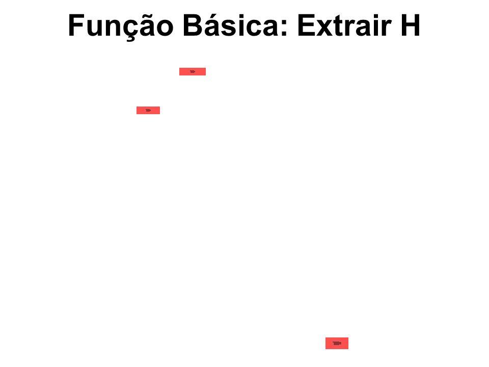 Função Básica: Extrair H