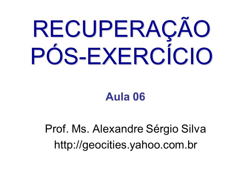 Aula 06 Prof. Ms. Alexandre Sérgio Silva http://geocities.yahoo.com.br