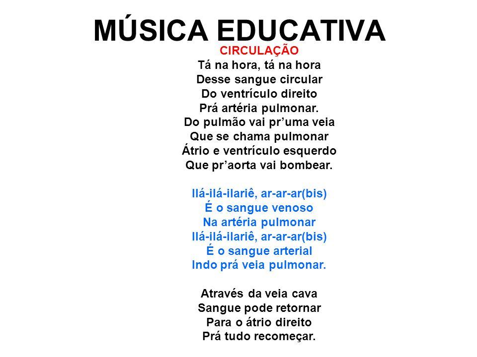 MÚSICA EDUCATIVA CIRCULAÇÃO Tá na hora, tá na hora
