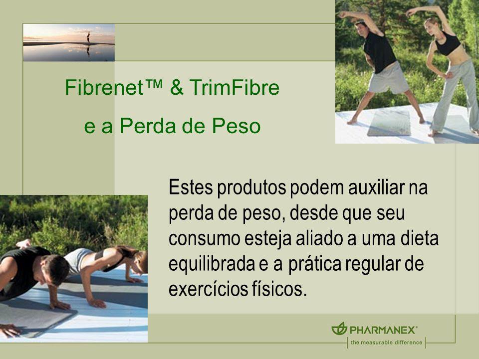Fibrenet™ & TrimFibre e a Perda de Peso.