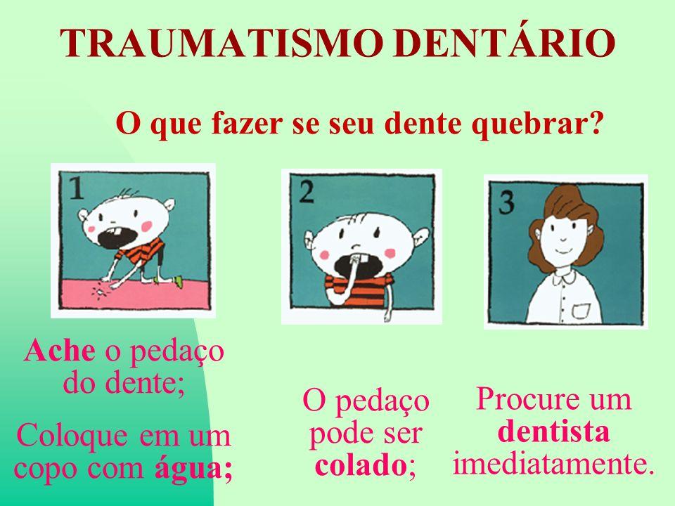 O que fazer se seu dente quebrar