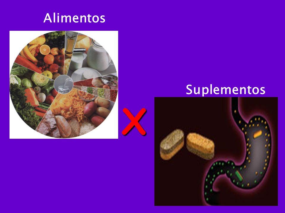 Alimentos Suplementos X