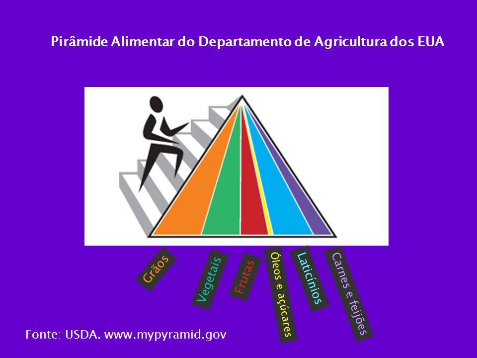 Pirâmide Alimentar do Departamento de Agricultura dos EUA