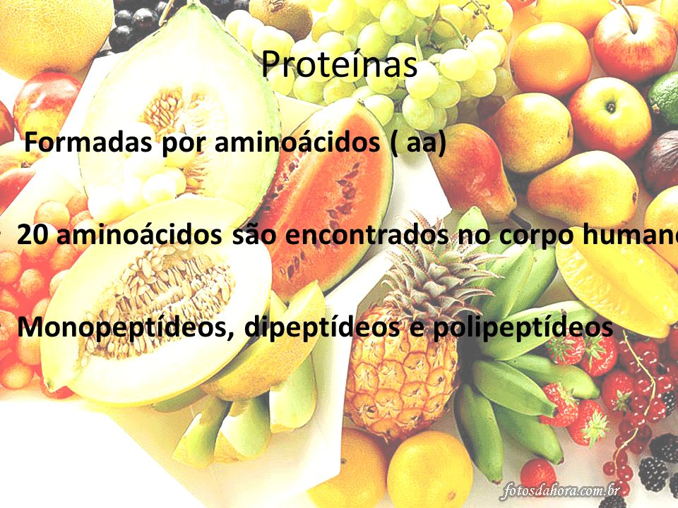 Proteínas 20 aminoácidos são encontrados no corpo humano