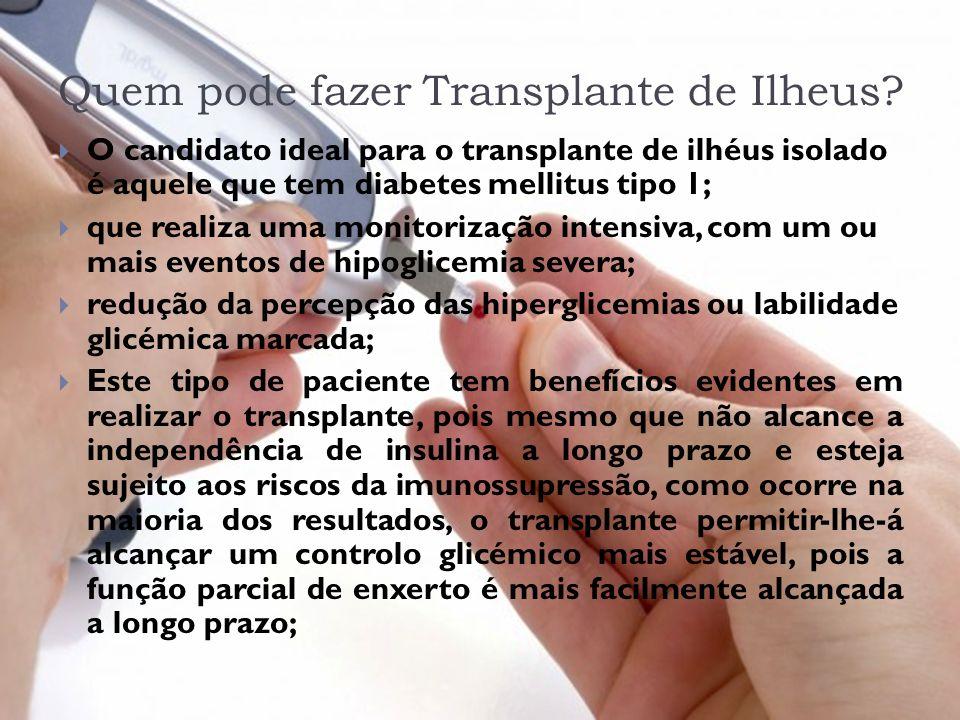 Quem pode fazer Transplante de Ilheus
