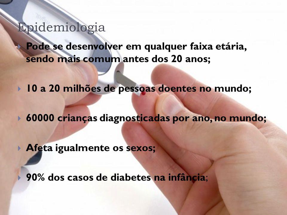 Epidemiologia Pode se desenvolver em qualquer faixa etária, sendo mais comum antes dos 20 anos; 10 a 20 milhões de pessoas doentes no mundo;
