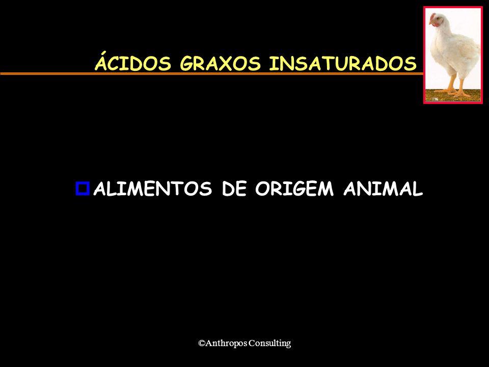 ÁCIDOS GRAXOS INSATURADOS