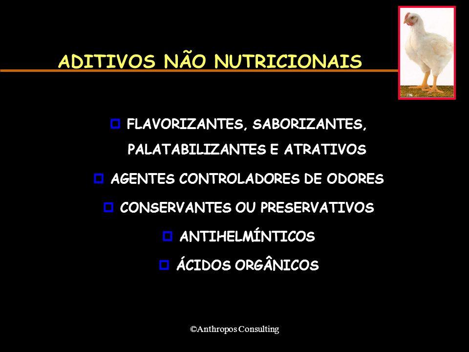 ADITIVOS NÃO NUTRICIONAIS