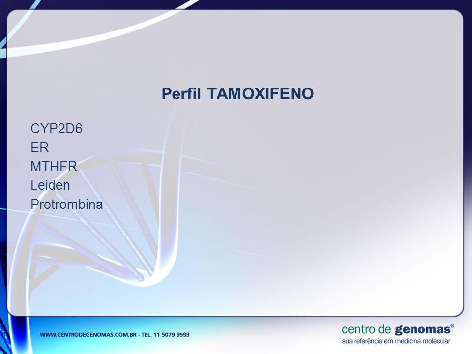 CYP2D6 ER MTHFR Leiden Protrombina