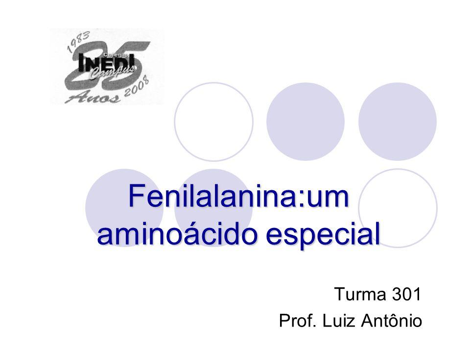 Fenilalanina:um aminoácido especial