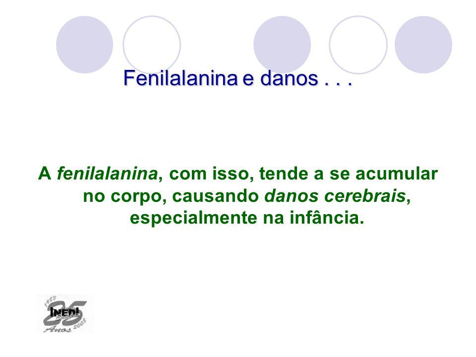 Fenilalanina e danos .