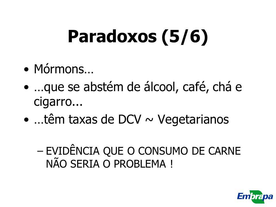 Paradoxos (5/6) Mórmons…