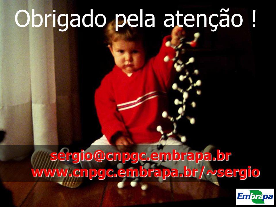 sergio@cnpgc.embrapa.br www.cnpgc.embrapa.br/~sergio