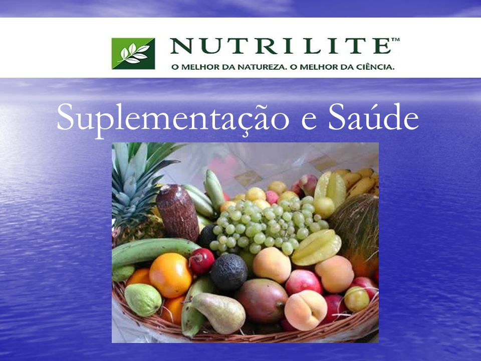 Suplementação e Saúde