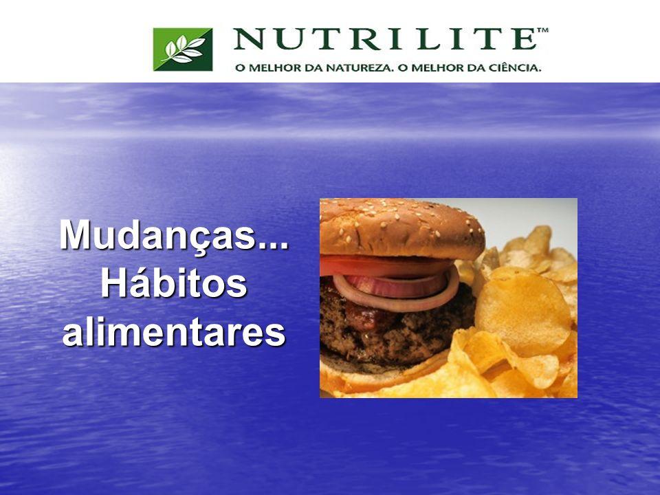 Mudanças... Hábitos alimentares
