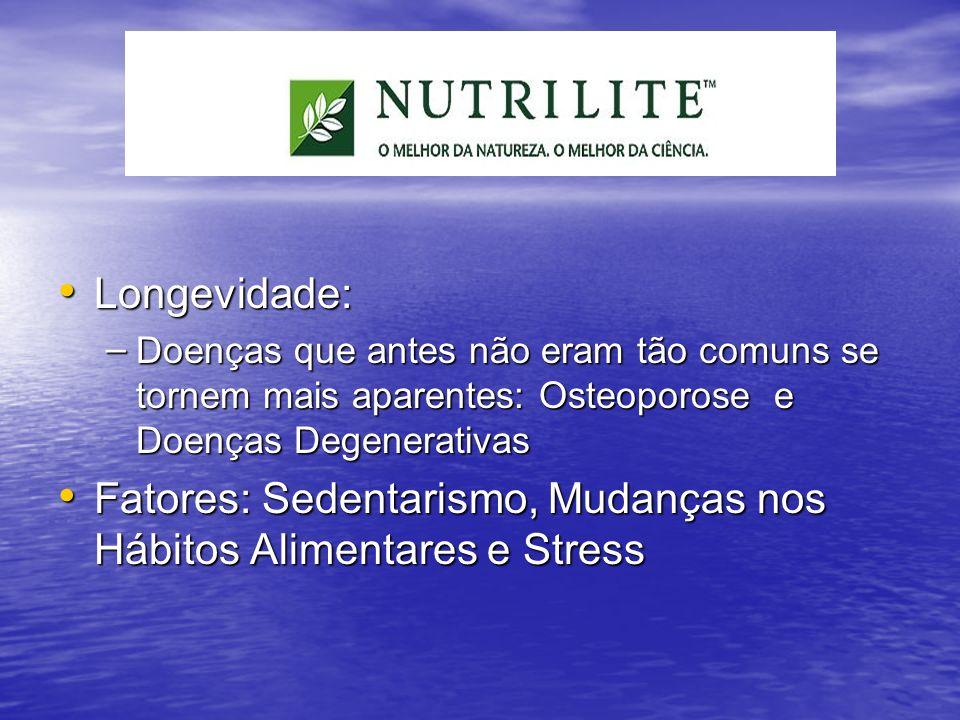Fatores: Sedentarismo, Mudanças nos Hábitos Alimentares e Stress