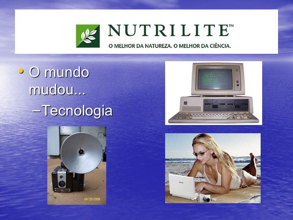 O mundo mudou... Tecnologia