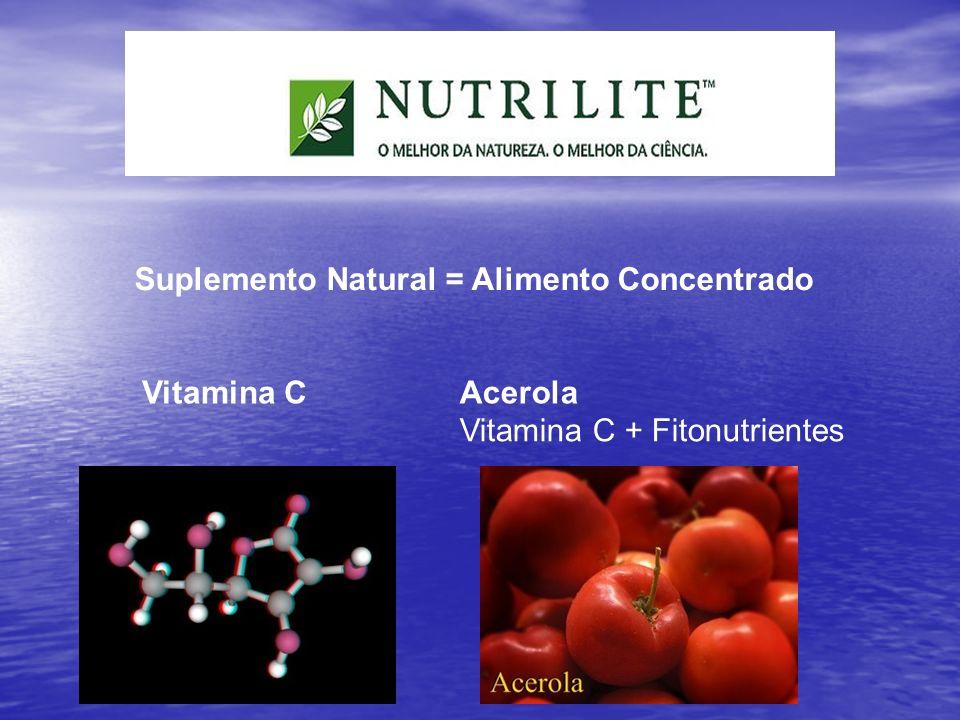 Suplemento Natural = Alimento Concentrado