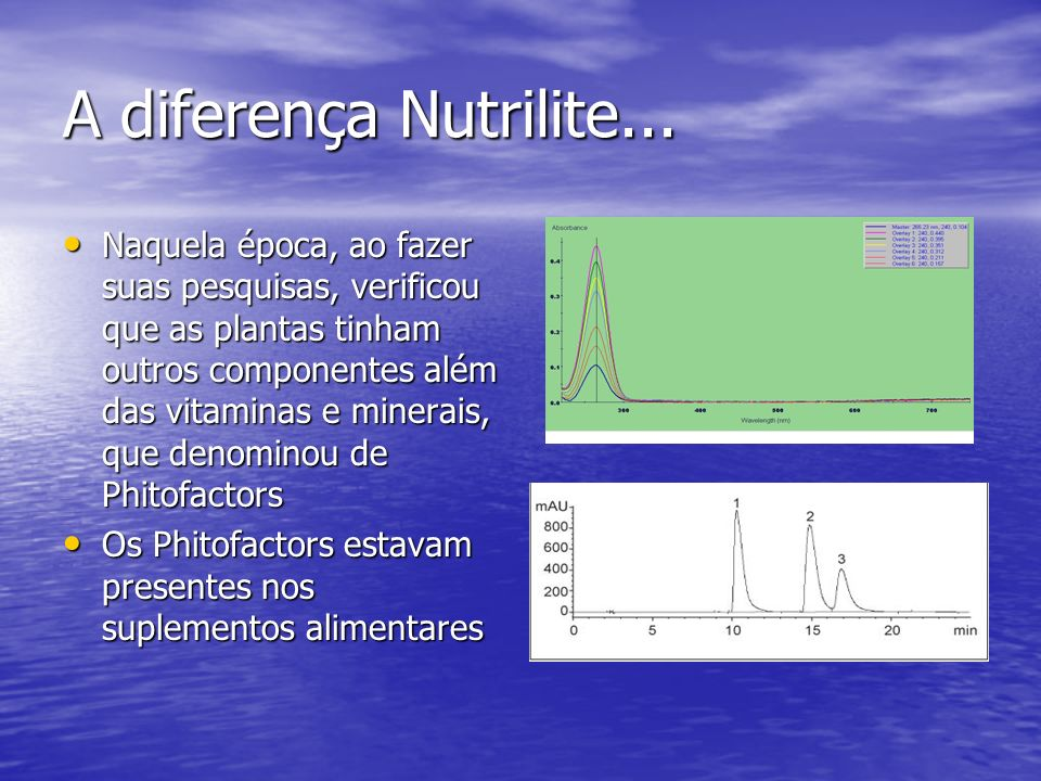 A diferença Nutrilite...