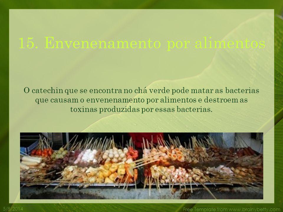 15. Envenenamento por alimentos