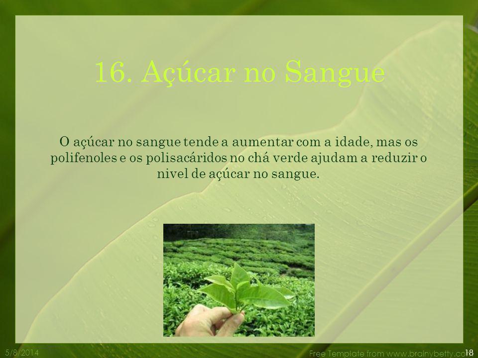 16. Açúcar no Sangue