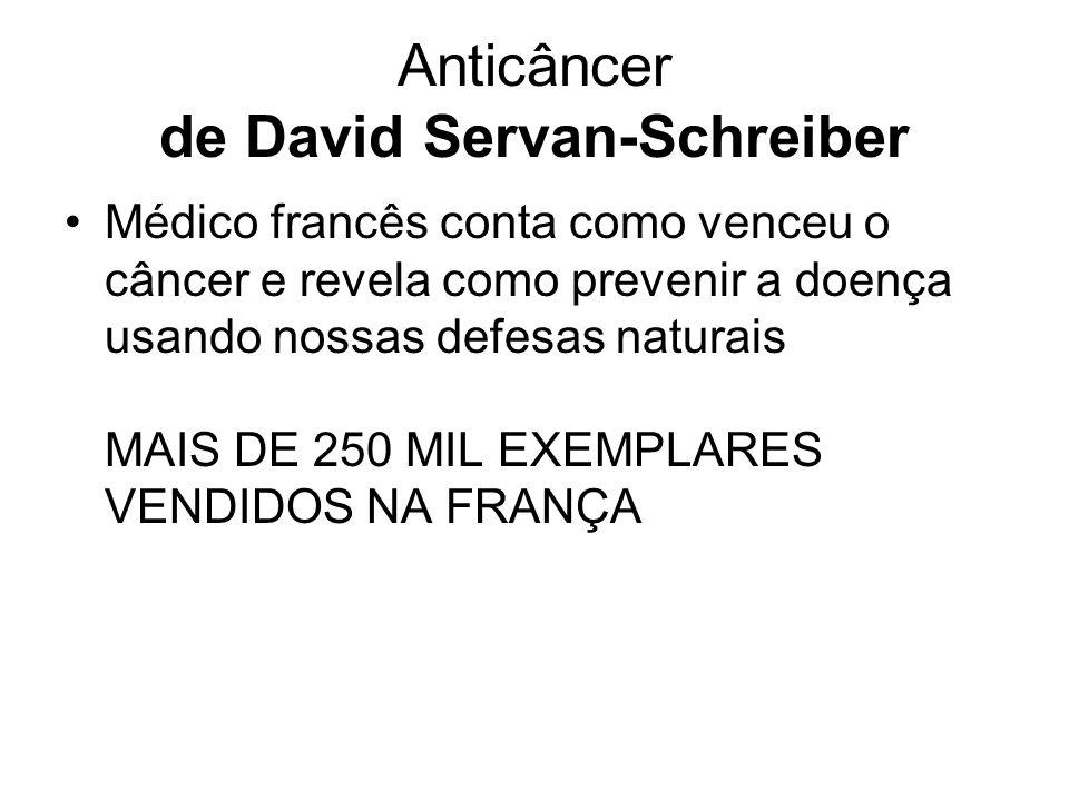 Anticâncer de David Servan-Schreiber