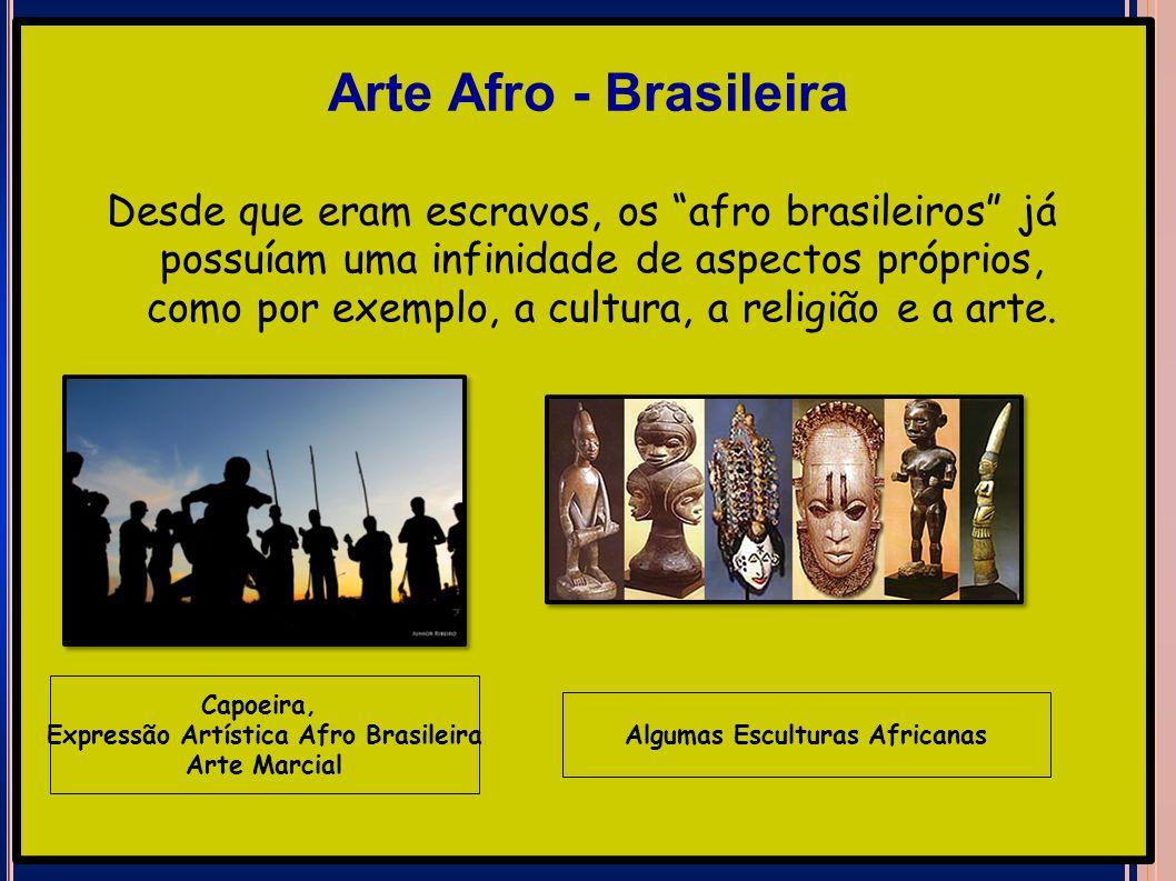 Expressão Artística Afro Brasileira Algumas Esculturas Africanas