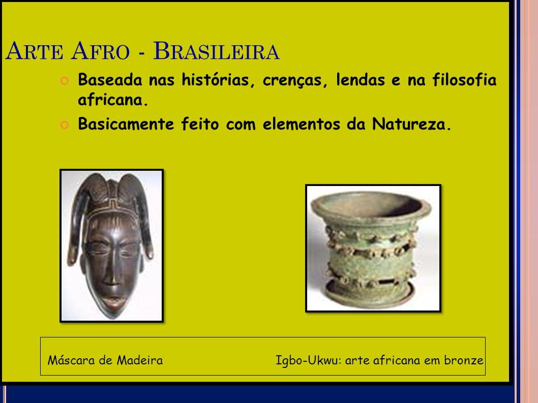 Máscara de Madeira Igbo-Ukwu: arte africana em bronze