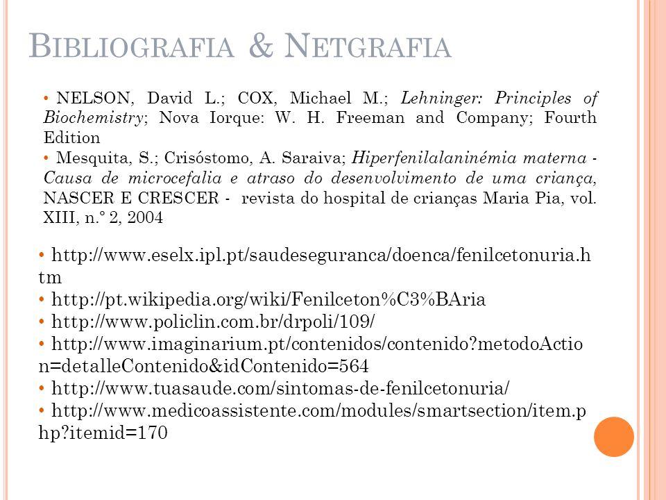 Bibliografia & Netgrafia