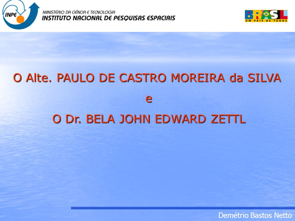 O Dr. BELA JOHN EDWARD ZETTL