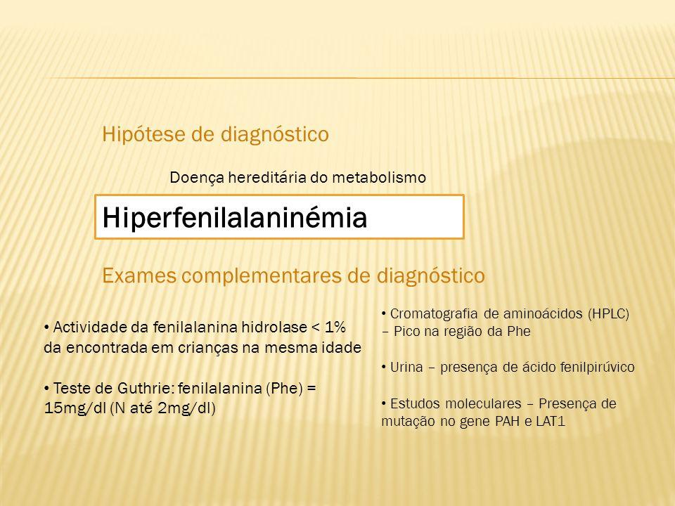 Hiperfenilalaninémia