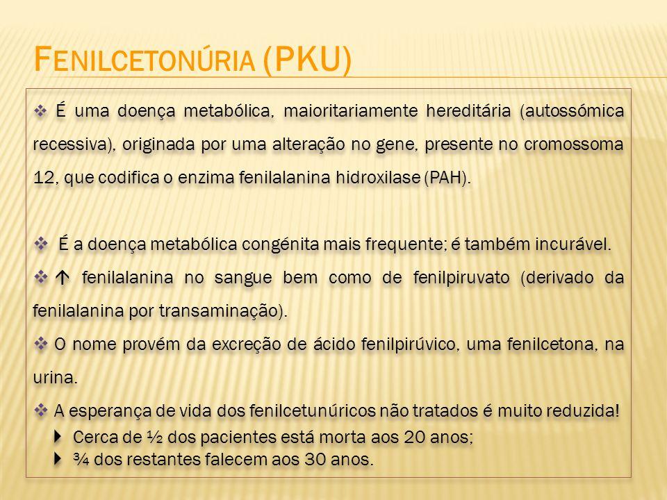 Fenilcetonúria (PKU)