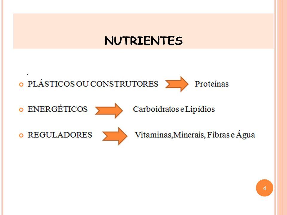 CIÊNCIA DA NUTRIÇÃO nutrientes