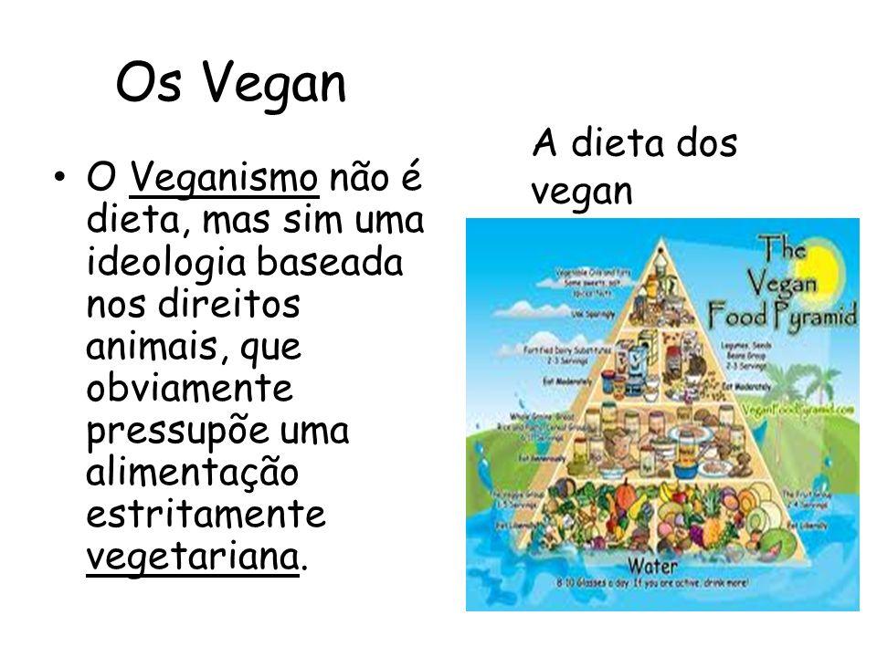 Os Vegan A dieta dos vegan