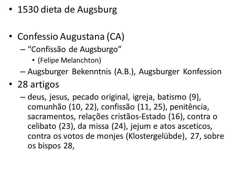 Confessio Augustana (CA)