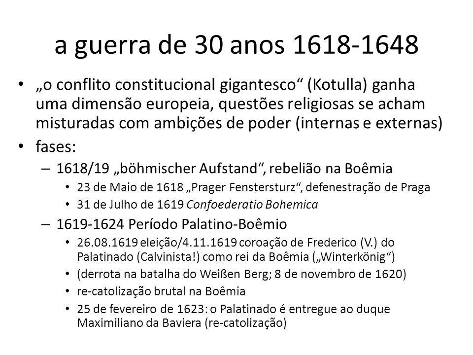 a guerra de 30 anos 1618-1648