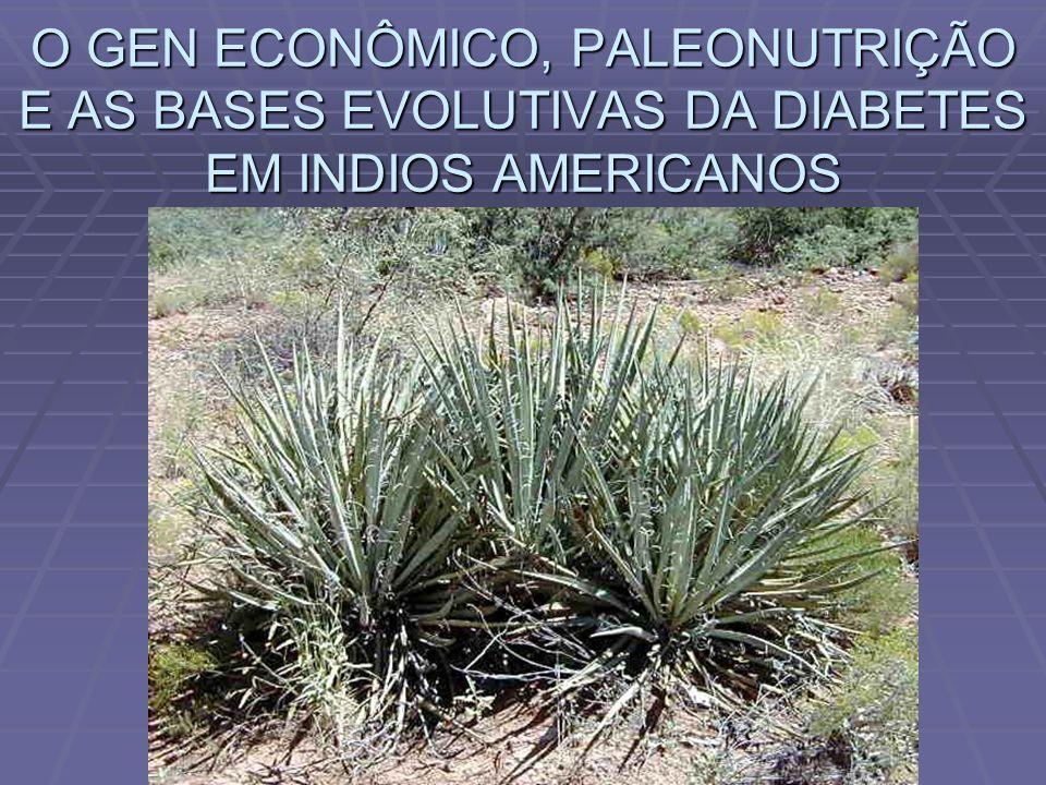 O GEN ECONÔMICO, PALEONUTRIÇÃO E AS BASES EVOLUTIVAS DA DIABETES EM INDIOS AMERICANOS