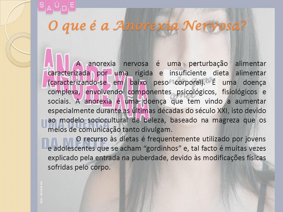 O que é a Anorexia Nervosa