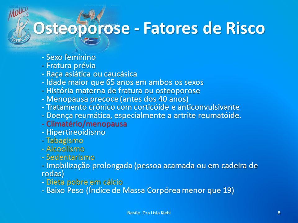 Osteoporose - Fatores de Risco
