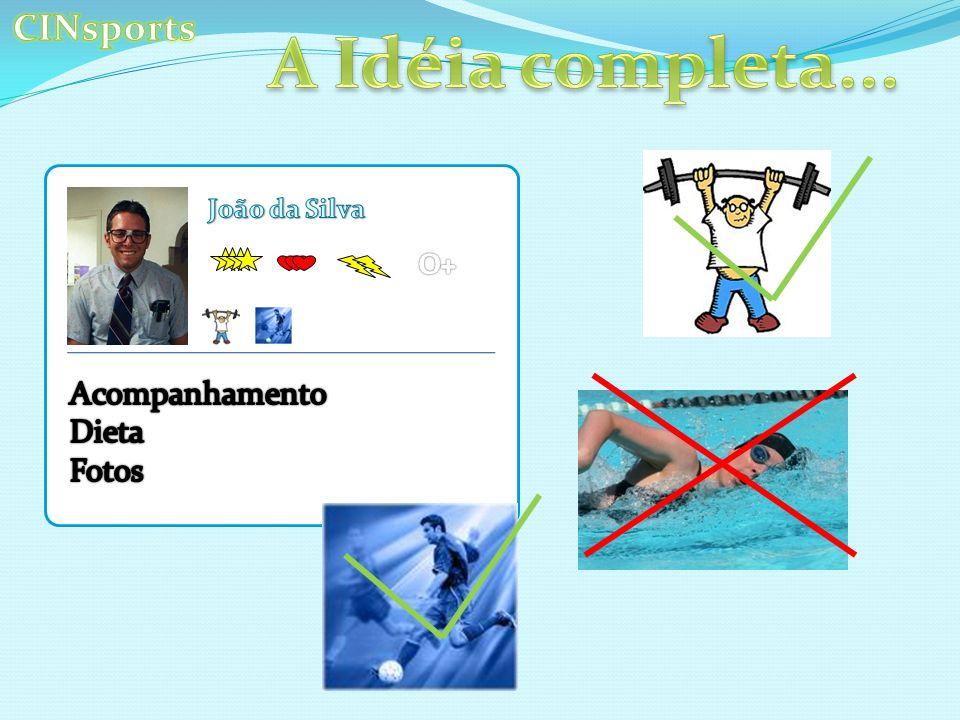 A Idéia completa... CINsports Acompanhamento Dieta Fotos João da Silva