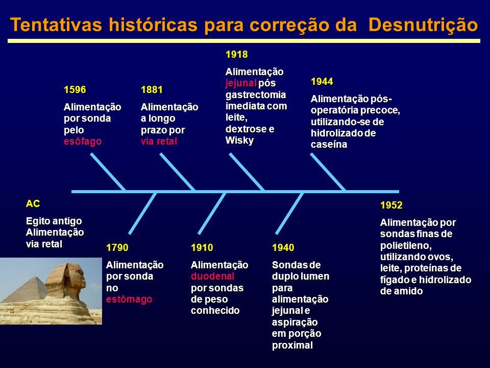 Tentativas históricas para correção da Desnutrição