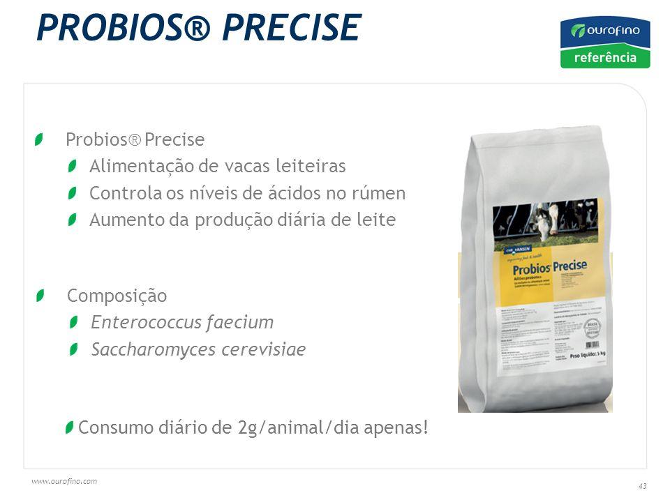 PROBIOS® PRECISE Probios® Precise Alimentação de vacas leiteiras