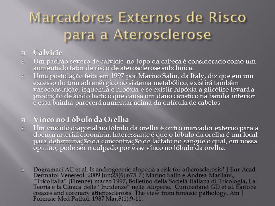 Marcadores Externos de Risco para a Aterosclerose