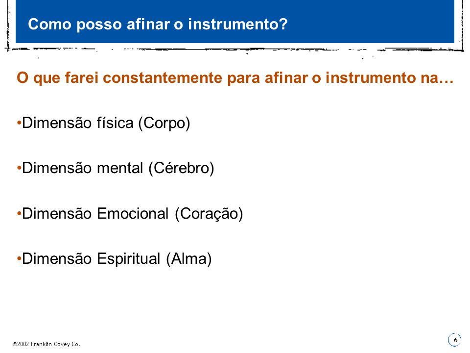 Como posso afinar o instrumento