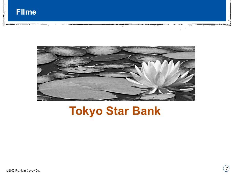 FIlme Tokyo Star Bank